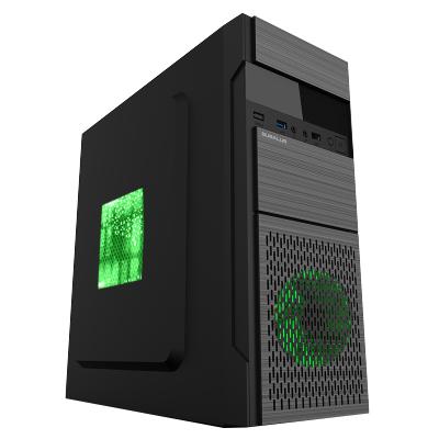 大水牛(BUBALUS)瑞祥商務辦公娛樂臺式電腦主機箱支持ATX主板U3