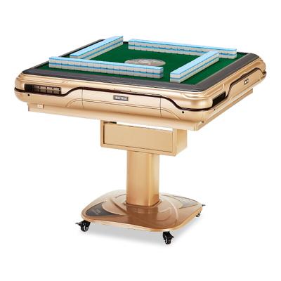 歐寶美麻將機全自動折疊電動麻將桌靜音家用四口USB麻將機