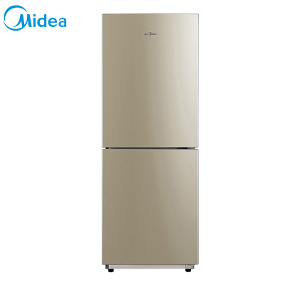 【99新】Midea/美的BCD-207WM 芙蓉金 雙門小型節能無霜冰箱207升家用租房用風冷靜音省電 智能控溫