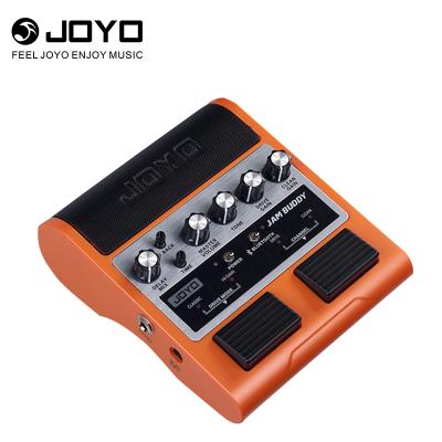 卓樂 JOYO JAM BUDDY雙通道2X4W踏板式吉他效果器音箱可充電支持藍牙播放小音響(橙色款)