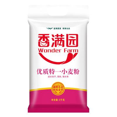 香滿園優質特一小麥粉5KG 袋裝小麥粉