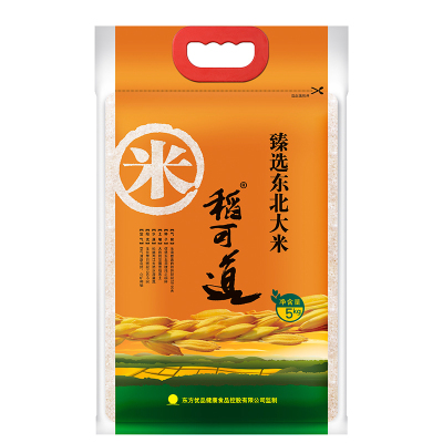 稻可道 臻選東北大米5kg 粳米