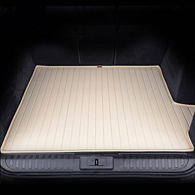 爱绿能(IGEG)汽车后备箱垫 行李箱尾箱垫 皮革耐磨 专车专用米色 下单请备注车型年款