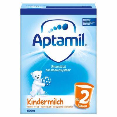 Aptamil 德國愛他美 本土版 嬰幼兒配方 奶粉 2+段 600g 2歲以上 21年4月