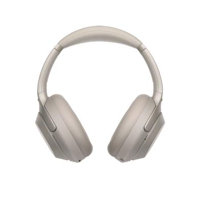 索尼(SONY)高解析度头戴式无线降噪立体声耳机WH-1000XM3 铂金银