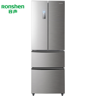 【99新】容聲 320升 法式多門風冷無霜雙銀色家用冰箱 BCD-320WD11MY 銀色