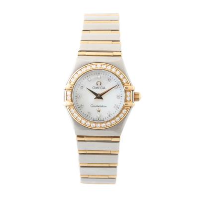 【二手95新】歐米茄OMEGA星座系列1267.75.00女表石英奢侈品鐘手表腕表
