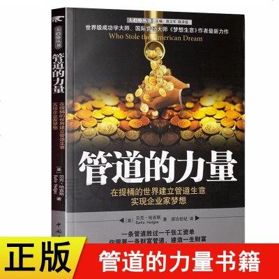 正版 管道的力量/貝克·哈吉斯(BurkeHedges) 中國青年出版社財富類書籍財富管理財富自由之路財務秘籍書