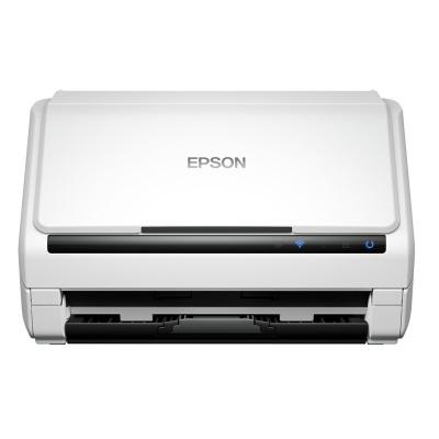 爱普生(EPSON) DS-570W A4馈纸式高速彩色文档扫描仪(白色)