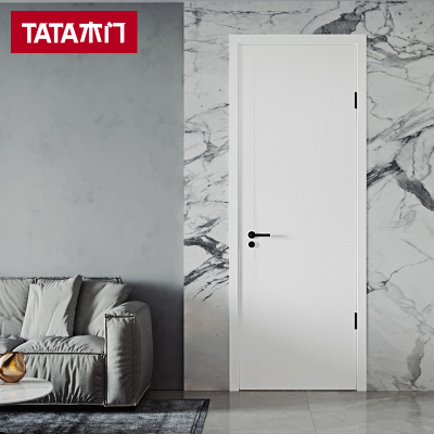 TATA木門新品 室內門臥室門房間門 客廳書房門套裝門家用木門@061