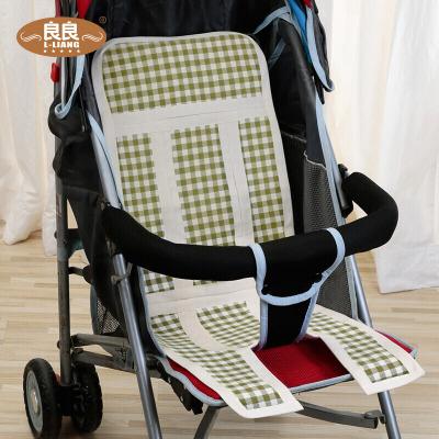 良良(LIANGLIANG) LLB04-1G 婴幼儿纯苎麻多用保健推车凉席绿83*30cm