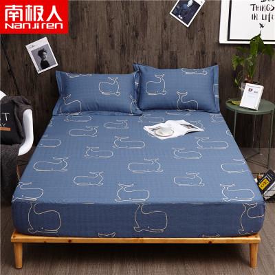 南極人(NanJiren)家紡 純棉床笠單件床上用品全棉床罩床墊保護套單品