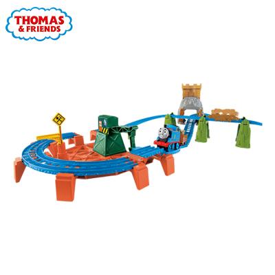 【苏宁自营】Thomas Friends 托马斯新电动系列城堡大冒险套装 BGL99