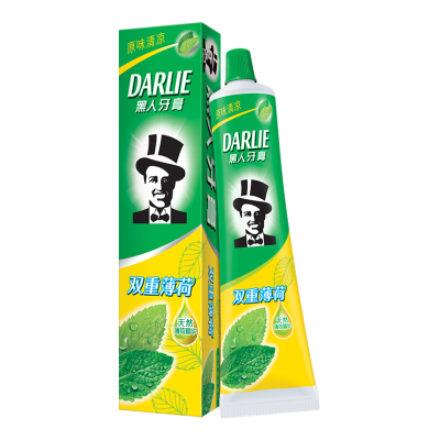 黑人(DARLIE)双重薄荷 牙膏 225g