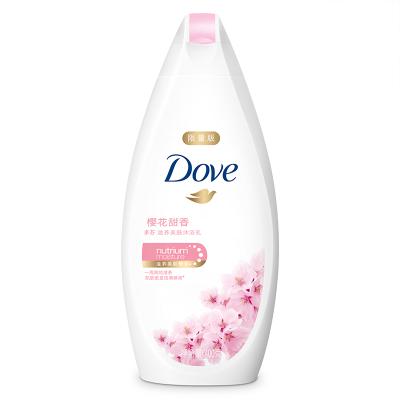 多芬(Dove)沐浴露 櫻花甜香 滋養美膚沐浴乳400g【聯合利華】