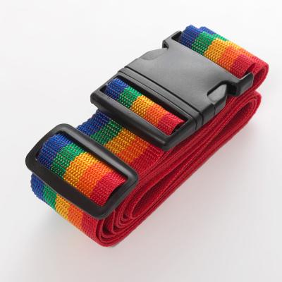 出国拉杆旅行箱包捆绑带可调节一字十字打包带子旅游加固托运绑带