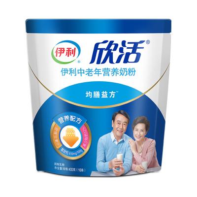 伊利 中老年營養奶粉400g袋裝(成人奶粉)