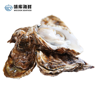 【鮮活】味庫鮮活生蠔 海蠣燒烤食材 凈4斤裝90-120g/只(約15-23只)
