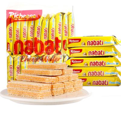 印尼進口麗芝士威化餅干500g散裝20小包網紅休閑零食品餅干一斤裝