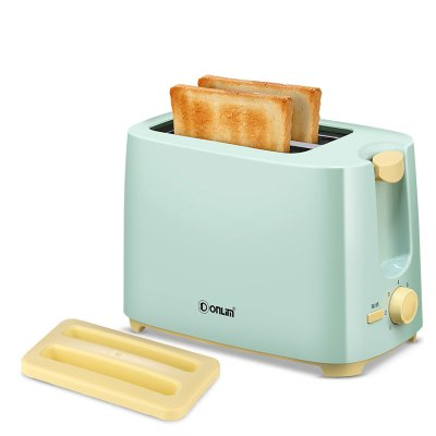 東菱(Donlim)烤面包機 TA-8600 家用片面包烤土司早餐機小型迷你多士爐全自動吐司機