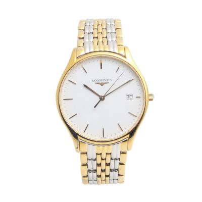 【二手95新】浪琴LONGINES優雅系列L4.759.2.12.7男表石英奢侈品鐘手表腕表
