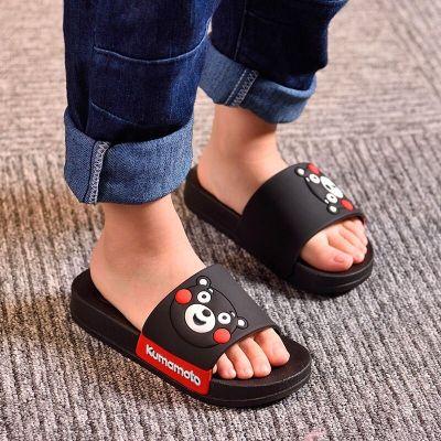 黛鬟兒童拖鞋親子兒童涼拖鞋男童秋冬夏卡通室內防滑家居女小孩寶