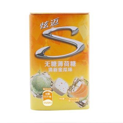 炫迈(Stride) 无糖薄荷糖22.5g(清新蜜瓜味)