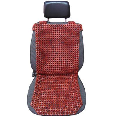 友用行汽車坐墊單片珠子夏季涼墊車用夏天透氣墊子通用座墊辦公室座椅墊小方墊
