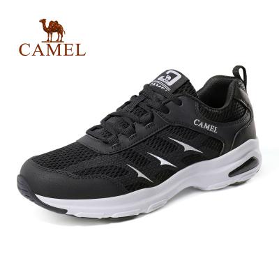 CAMEL駱駝戶外越野跑鞋 2019春夏新款情侶款男女休閑旅行系帶透氣舒適越野跑步鞋