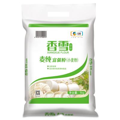 【苏宁超市】香雪麦纯富强粉5kg/袋 粮油 面粉 包子 馒头 面条用粉 中粮出品