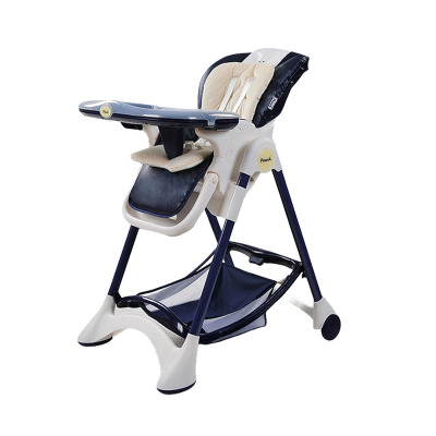 Pouch帛琦 婴儿餐椅可平躺易折叠高度可调节儿童餐椅K05
