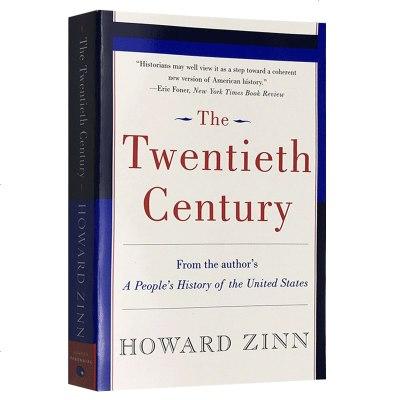 正版 二十世紀 英文原版歷史書 The Twentieth Century 英文版進口美國史教材英語書籍 霍華德津恩