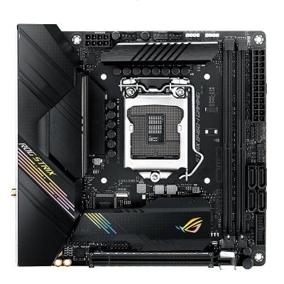 華碩(ASUS)ROG STRIX B460-I GAMING 支持雙M.2 迷你ITX電競游戲主板