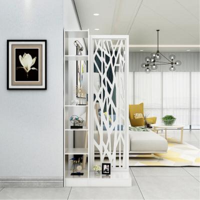 歐式客廳鏤空花玄關柜屏風隔斷簡約現代廳柜間廳柜置物儲物柜 工匠時光
