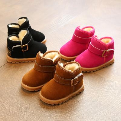 寶寶雪地靴女1-2-3歲冬季嬰兒童雪地靴男女童寶寶棉鞋中小童保暖