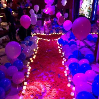 開心孕仿真玫瑰花瓣求婚表白生日派對酒店婚房裝飾結婚禮婚慶用品手撒花