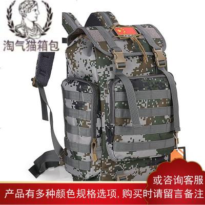 <军用>户外登山包双肩40L男特种兵旅行运动包大容量军旅战术背包