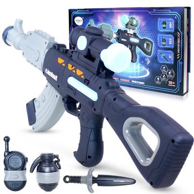 百變磁力玩具槍玩具男孩玩具女孩玩具拼裝槍拼接兒童玩具DIY益智玩具槍拼裝玩具發聲光男孩禮物