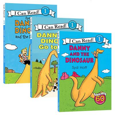 正版 丹尼和恐龙系列3本 英文原版绘本 Danny and the Dinosaur 汪培珽推荐书单 英文版儿童启蒙