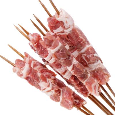 【羊肉串500g(約22串)】現切燒烤食材生鮮羊肉類烤肉