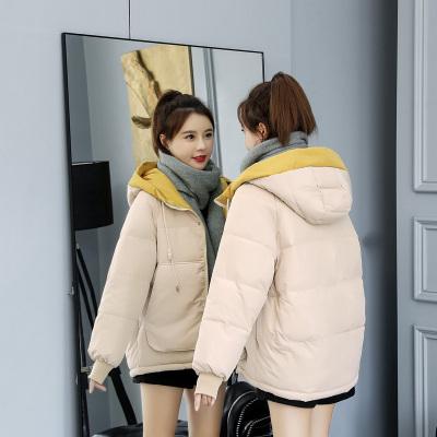追記 新款棉衣 女短款學生面包服韓版加大百搭棉服外套女