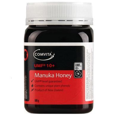 康維他 Comvita 【品牌授權】新西蘭原裝進口 曼努卡 麥盧卡 蜂蜜 UMF 10+ 500g 1瓶