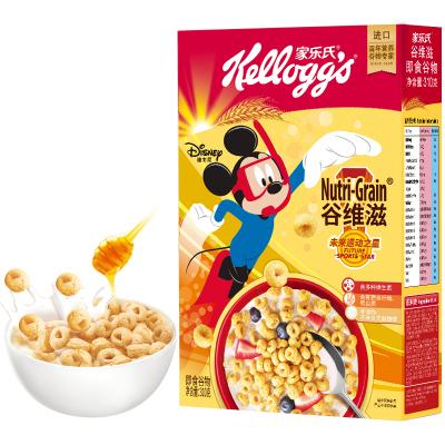 家樂氏進口麥片谷維滋310g即食沖飲營養谷物早餐食品健康養胃禮盒