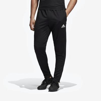 阿迪達斯(adidas)男褲2019春季男士小腳褲足球訓練聚酯纖維運動長褲DT9876