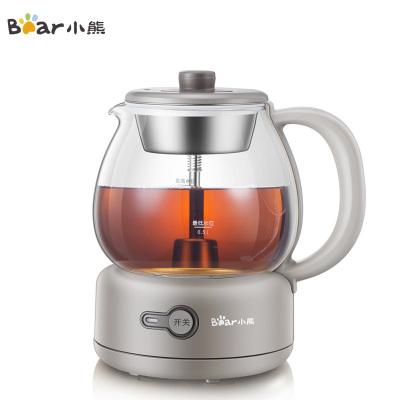 小熊(Bear)煮茶器ZCQ-A10Q1 小型家用全自動噴淋式沖泡電茶爐電熱蒸汽泡煮茶壺黑茶普洱養生壺蘇寧自營