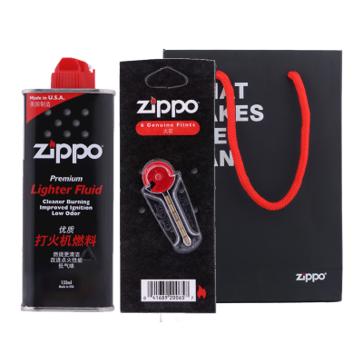 zippo打火机配件 正版原装zippo配件火石棉芯芝宝配件套装