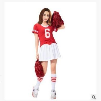 啦啦操服装少女时代啦啦队服拉拉队裤裙套装足球宝贝健美操表演服
