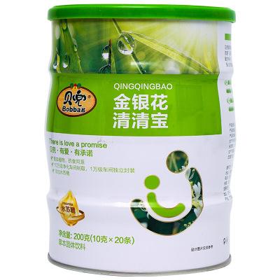 貝兜清清寶 兒童輔食金銀花 奶伴侶清清寶 200g/罐