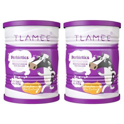 新西兰原装进口 TLAMEE 提拉米分离乳铁蛋白粉 益生菌粉 复合益生菌粉 45g(1.5g*30 袋)*2罐