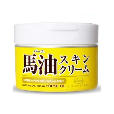 Loshi北海道 马油保湿面霜 220G 日霜晚霜通用 保湿补水 滋润营养 深层滋养 各种肤质220g